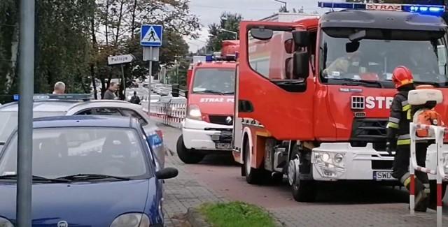 Na ulicy Raciborskiej zderzyły się dwa samochody osobowe