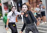 Art Ino Festiwal, czyli cyrkowe popisy na Rynku w Inowrocławiu pod dyktando burzy i deszczu [zdjęcia]