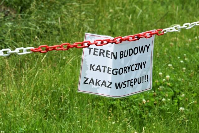 """Szatnia na medal na """"Kampingu przy Baszcie"""", w budowie - 02.07.2021"""