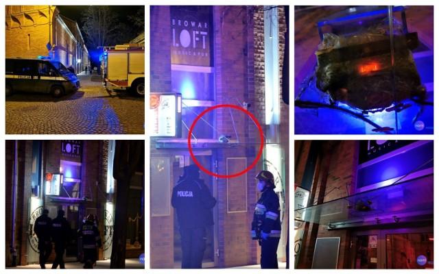 Bomba w klubie Browar Loft Music & Pub Włocławek?