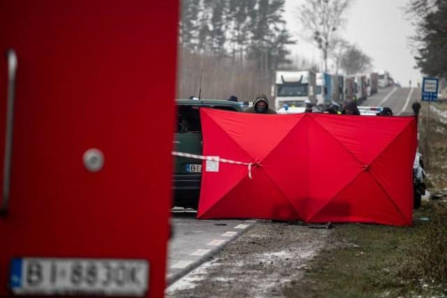 Śmiertelny wypadek pod Grabówką. Nowe fakty w sprawie tragicznego zdarzenia na trasie Białystok - Bobrowniki