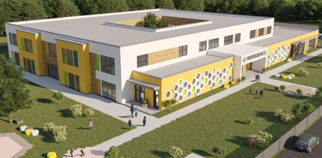 Tak ma wyglądać nowe przedszkole na ul. Przygodnej w Szczecinie
