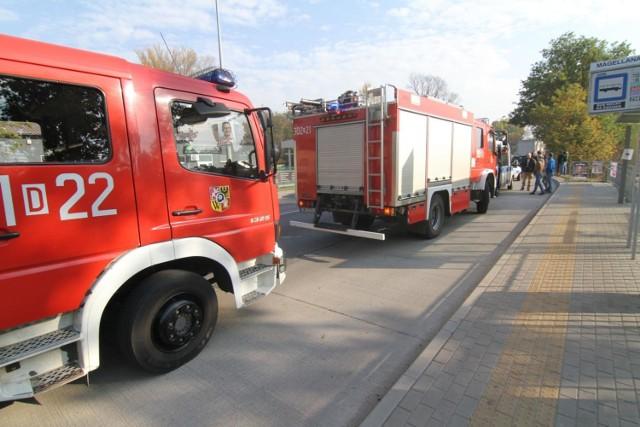 Dwie osoby ranne po pożarze w Konstancinie Jeziornie. Policja apeluje o ostrożność przy dogrzewaniu mieszkań
