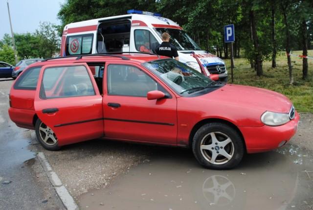W tym samochodzie doszło do tragedii