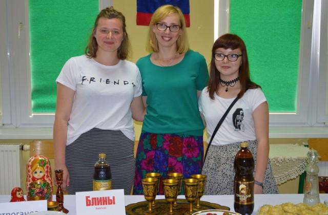 Studenci mogli spróbować potraw kuchni różnych krajów w tym także z Rosji