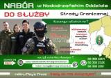 Nabór do służby w Nadodrzańskim Oddziale Straży Granicznej. Czeka 60 etatów