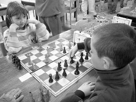 Podczas takich turniejów mogą objawić się młode talenty. Fot: MAGDALENA CHAŁUPKA
