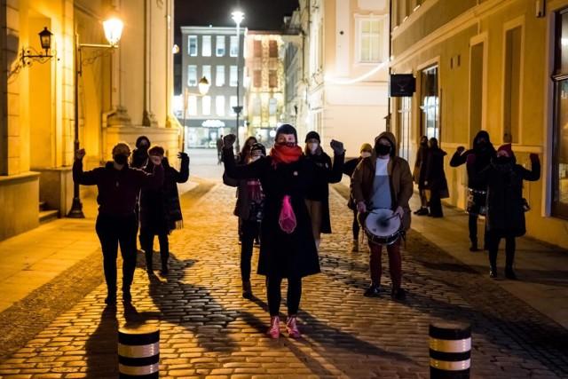 """Wydarzenie pod nazwą """"Partyzantka"""" zorganizowała Bydgoska Akcja Feministyczna"""
