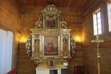 Renowacja ołtarza głównego w kościele św. Anny w Brzezinach zbliża się do końca