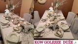 Najpiękniejsze stoły wigilijne KGW z gminy Wolbórz [ZDJĘCIA]