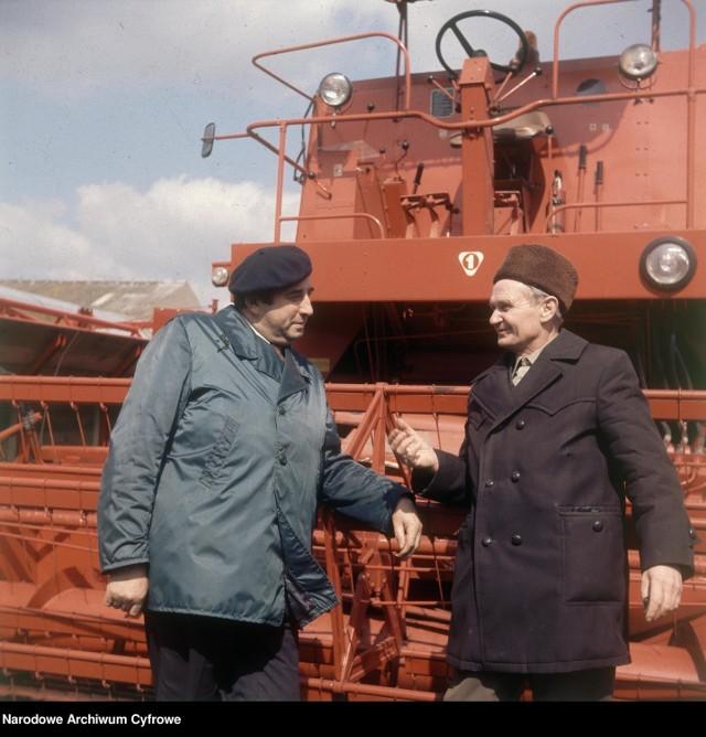 1975 rok. Rolniczy Kombinat Spółdzielczy w Adolfowie