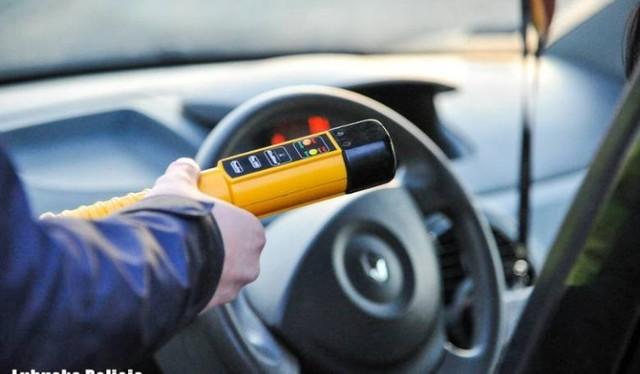 Niechlubne żniwo kontroli trzeźwości kierowców
