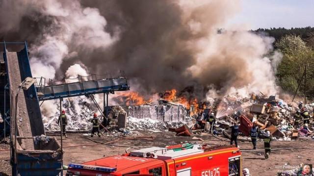 Pożary w Wielkopolsce - czytaj więcej
