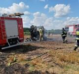 Wtorek - na naszym terenie - w ogniu. Strażacy mają pełne ręce roboty [FOTO]