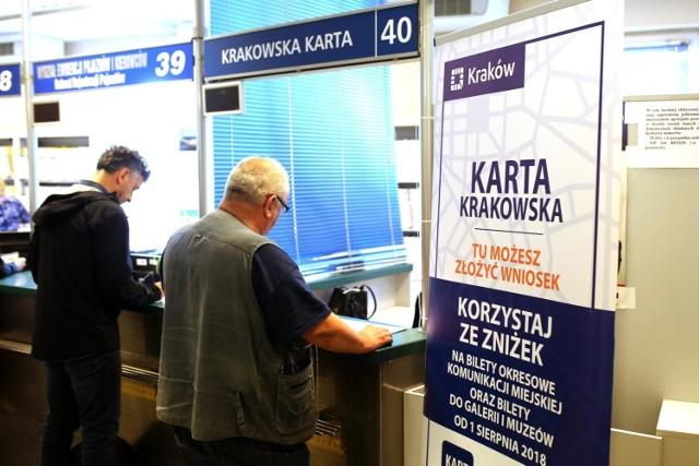 Karta Krakowska funkcjonuje od 1 sierpnia 2018 roku. Okazało się, że do tej pory nie mogło z nie w pełni korzystać ok. 3500 uprawnionych osób. Dopiero teraz naprawiono ten błąd