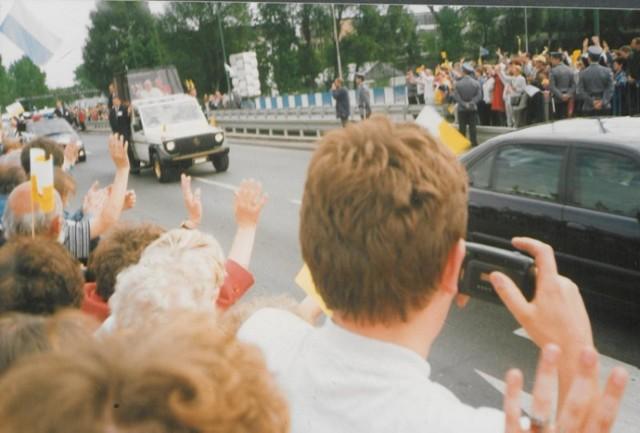 Przejazd ulicami miasta Papieża Jana Pawła II