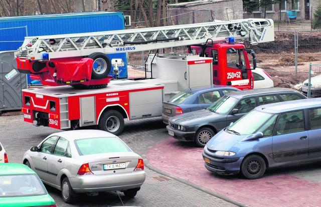 Tak wygląda większość parkingów w Krakowie