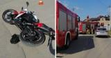 Wypadek motocyklisty w Siemianowicach Śląskich
