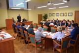 Sesja rady miejskiej w Zawierciu