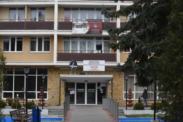"""Izolatorium w Ciechocinku zostało stworzone na przełomie marca i kwietnia br., na bazie sanatorium uzdrowiskowego MSWiA """"Orion"""""""
