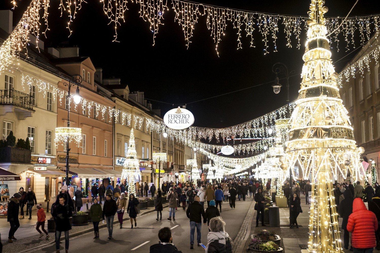 Iluminacja świąteczna 2018 Warszawa Tak Pięknie Nie Było Jeszcze
