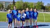 Dziewczęta rywalizowały w biegach przełajowych w Bełchatowie, 13.05.2021