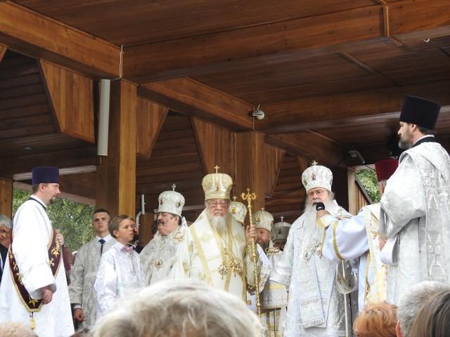 Obchody święta Przemienienia Pańskiego na Świętej Górze Grabarce