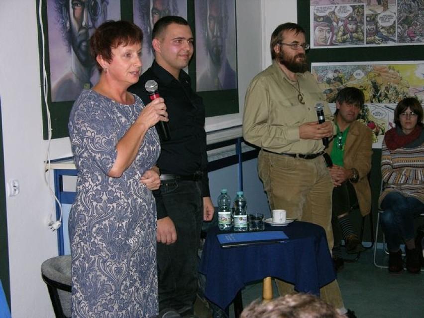 Odbyło się spotkanie z Andrzejem Pilipiukiem w...