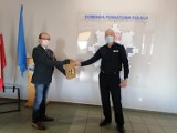Gostyń. Policjanci otrzymali środki ochrony osobistej