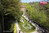Wałbrzych: Fontanny na tarasie bogini Flory zamku Książ odzyskują dawny blask (ZDJĘCIA)