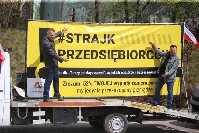 Strajk Przedsiębiorców w Katowicach