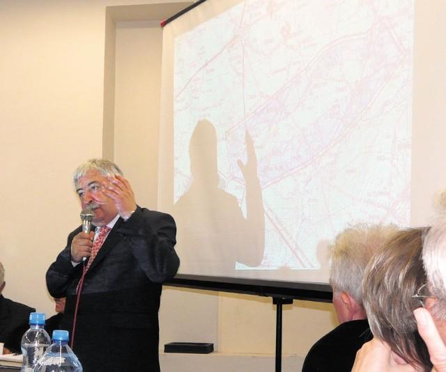 Pod koniec zeszłego roku przedstawiciele bełchatowskiej kopalni pokazali w Złoczewie plan odkrywki