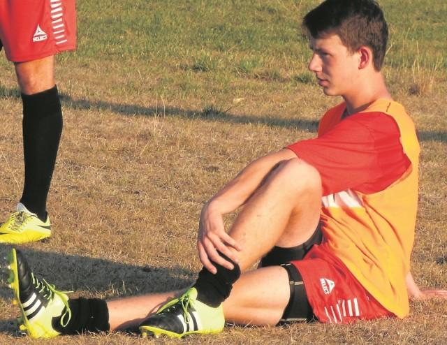 17-letni Artur Ciepliński uratował remis dla buskiego Zdroju.