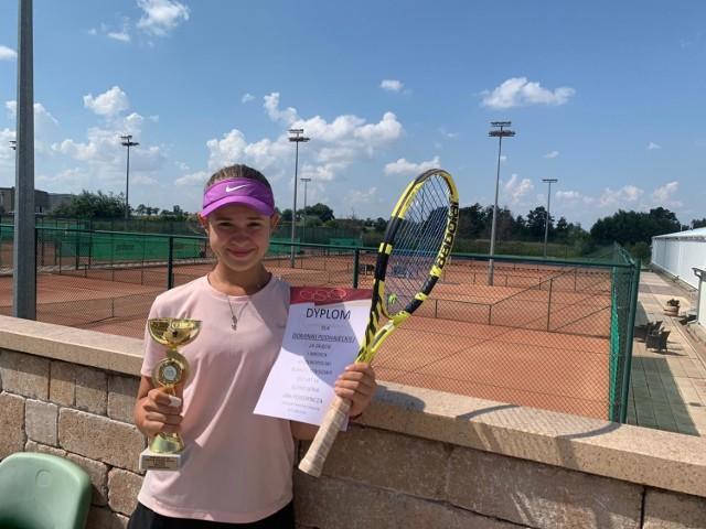 Dominika Podhajecka wygrała Ogólnopolski Turniej Klasyfikacyjny Super Seria Sobota Cup Kadetek.