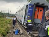 Wypadek pociągu Intercity w Czerwionce NOWE ZDJĘCIA