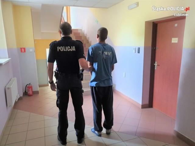 Trzej mężczyźni zatrzymani za kradzieże na terenie jednego z marketów w Woźnikach.