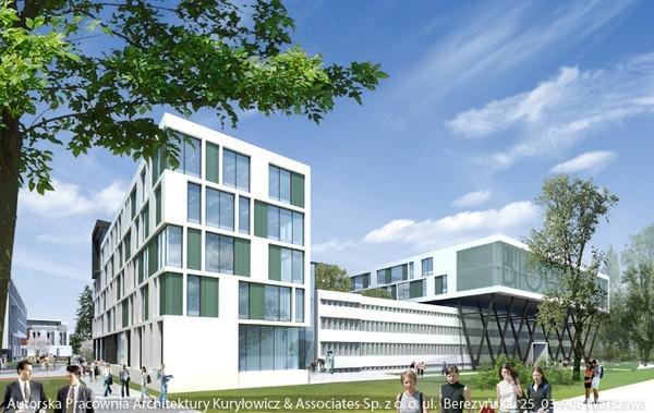Centrum Nauk Biologiczno-Chemicznych UW zostanie oddane za niecałe trzy lata
