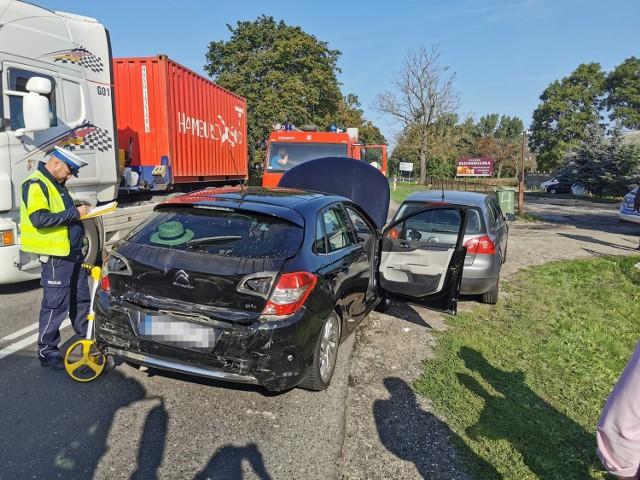 Gmina Kłecko: Wypadek w Kłecku Kolonii. Dwie osoby trafiły do szpitala