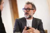 Massimo Bottura w Warszawie. Światowej sławy szef kuchni przyleciał do Polski i mocno skrytykował fast food