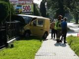 Bytom: wypadek na ul. Długiej w Stroszku ZDJĘCIA