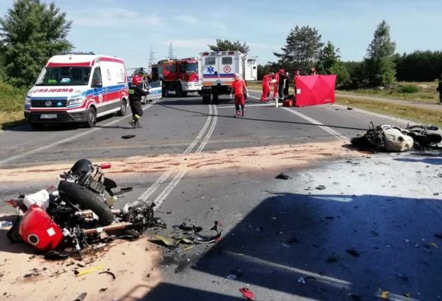 W czerwcu w wypadku na obwodnicy Kleszczowa zginęło dwóch motocyklistów. Czy po wprowadzeniu zakazu będzie bezpieczniej?