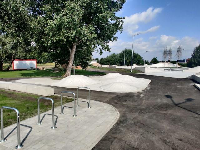 Skatepark przy ulicy Maciejowickiej w Szczecinie już prawie gotowy