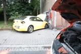 Wypadek na ulicy Wrocławskiej w Legnicy, dwie osoby ranne
