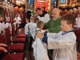 Odpust w Sanktuarium Matki Bożej Księżnej Sieradzkiej i obłóczyny ministrantów FOTO