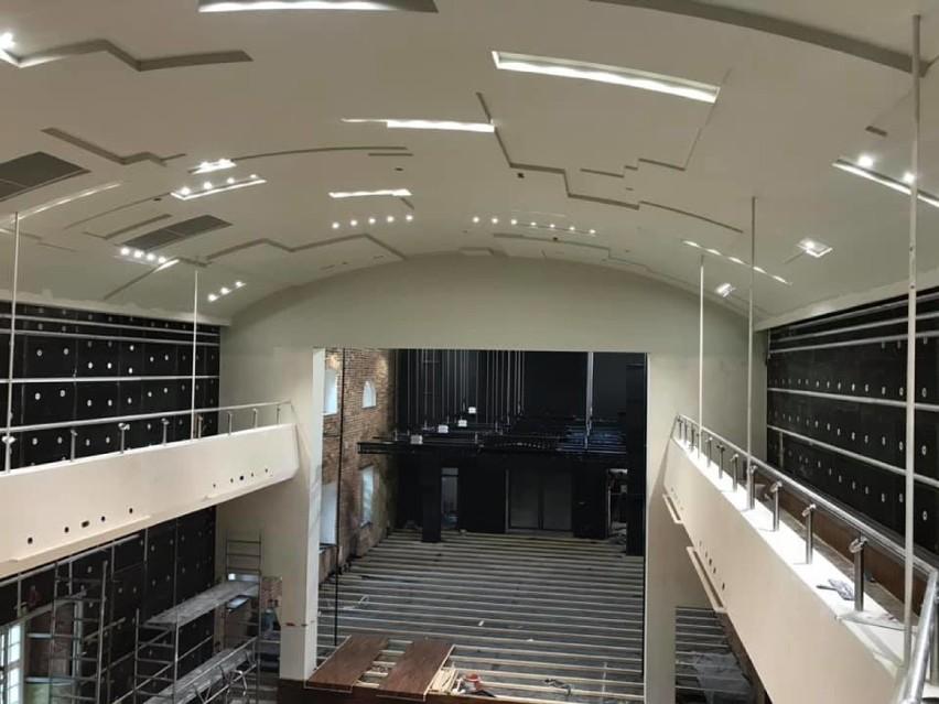 Tak wygląda miejski teatr od środka. Za miesiąc otwarcie obiektu