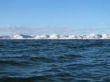 Epoka lodowcowa na Pucyfiku! Na Małym Morzu zastali... Małą Arktykę. Tak zimą 2011 wyglądał okryty lodem Ryf Mew
