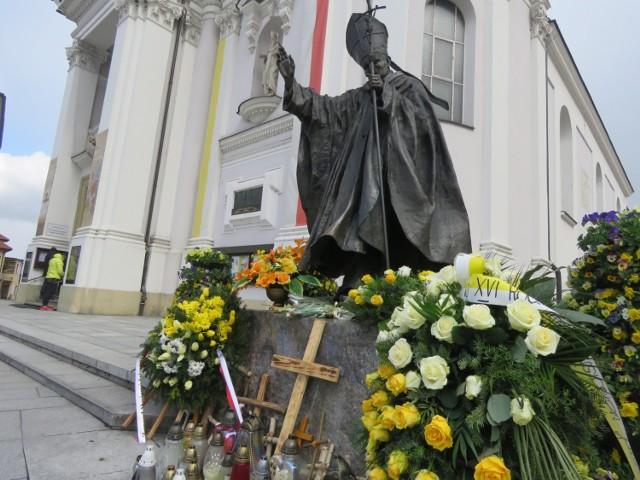 Wielkanoc w papieskiej bazylice w Wadowicach