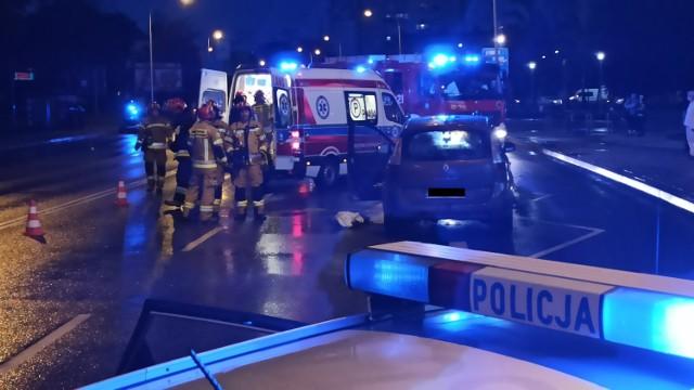 Wypadek na ulicy Górnośląskiej w Kaliszu