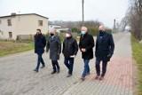 Zmodernizowana ulica Jarzębinowa w Leźnie oficjalnie otwarta