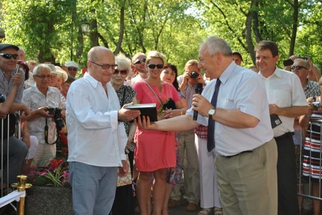 Wojciech Pszoniak ma swoją gwiazdę na Ciechocińskim Deptaku Sław